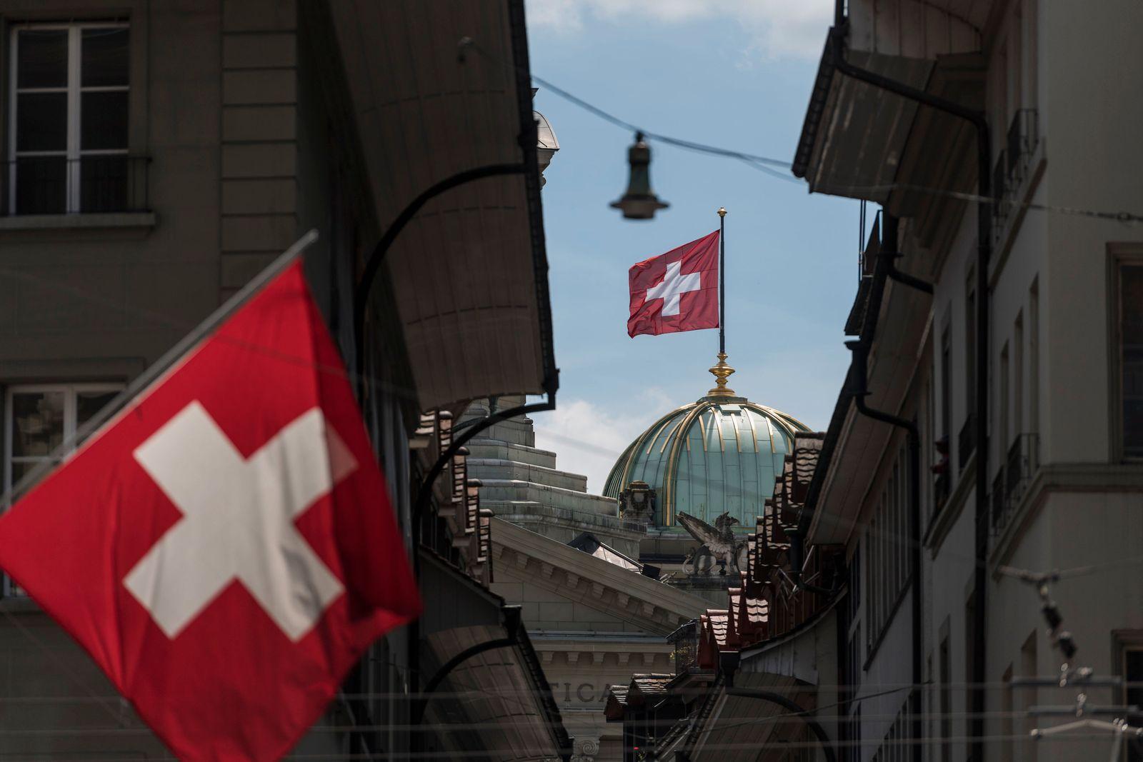 Schweizer Wirtschaft mit Rekord-Einbruch