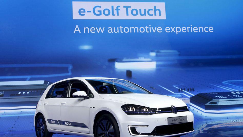 Volkswagen E-Golf: Auch die Stromer aus Wolfsburg verschwinden teilweise aus der Statistik