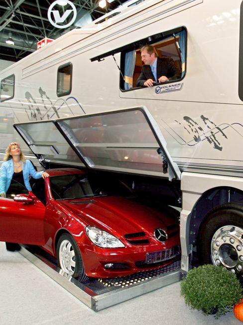 Viel Platz drinnen und draußen: Der Caravan Salon 2020