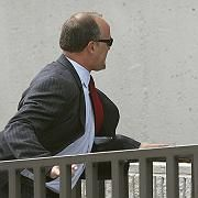 Verurteilt: Ex-UBS-Banker Birkenfeld auf dem Weg ins Gericht
