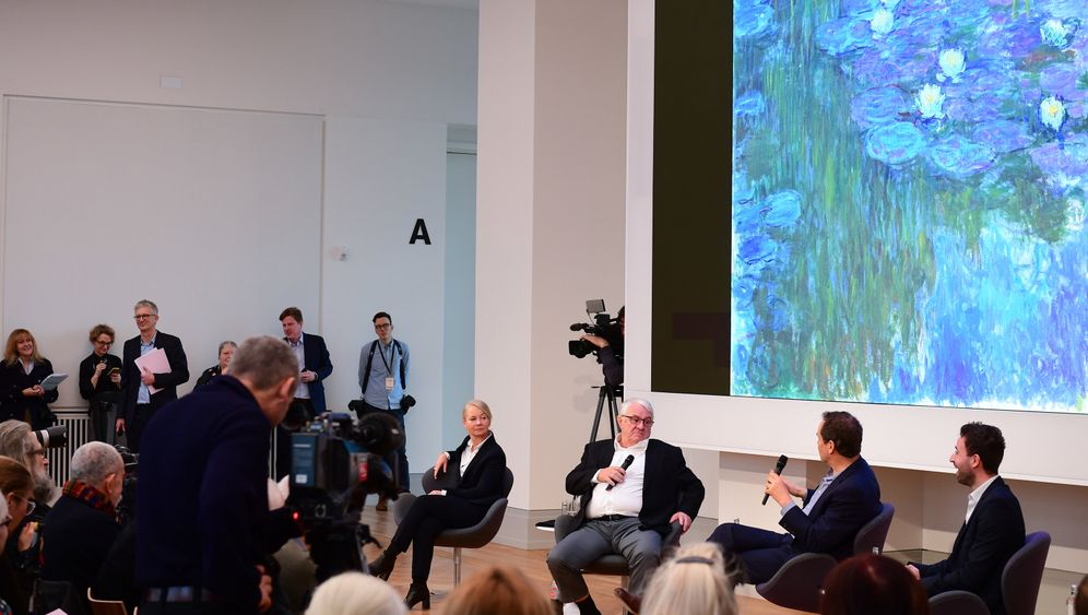 Kunst: Teuerste Heuhaufen im Museum Barberini