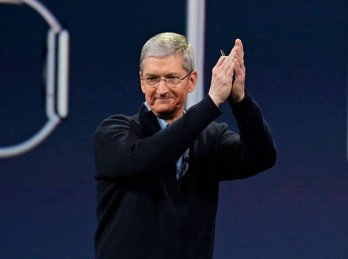 """Apple-Chef Tim Tim Cook: Neue Mitarbeiter müssen einfach den """"cultural fit"""" haben - sprich ins Team und in die Firma passen"""