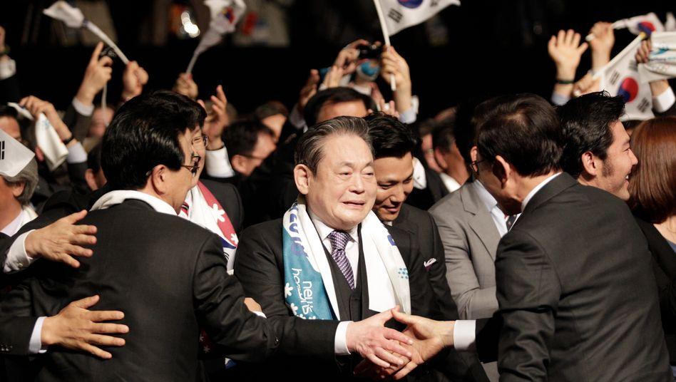 Samsung-Chef Lee Kun-hee: Kampfansage an Apple