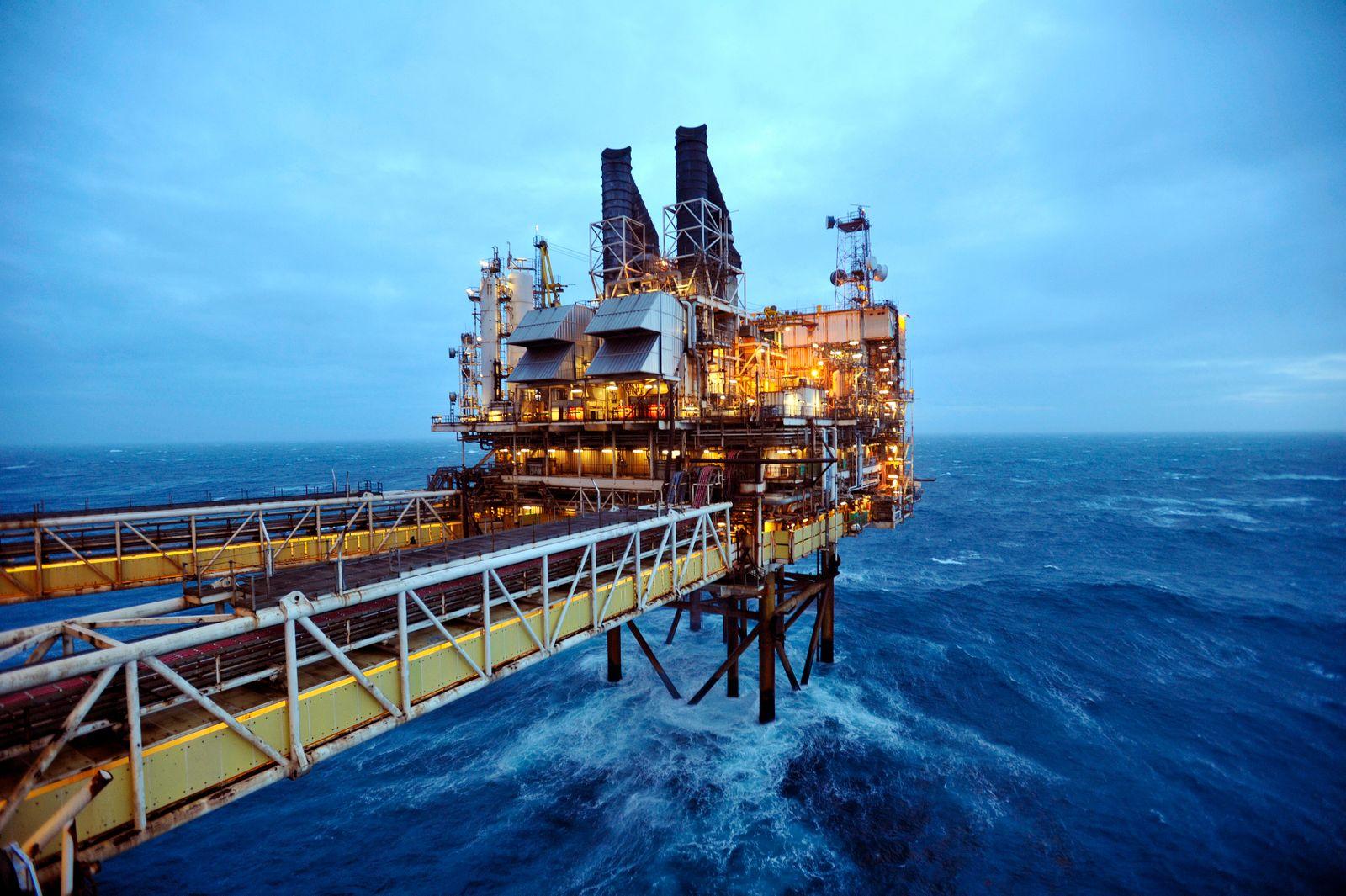 Schottland / Aberdeen / Ölplattform (Kopie)