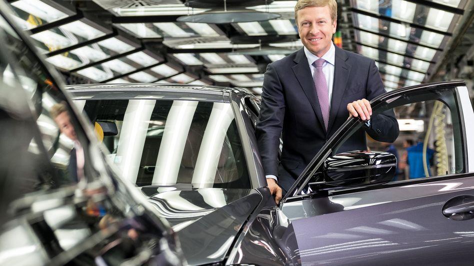 BMW-Chef Oliver Zipse lässt seine Aktionäre nicht im Stich