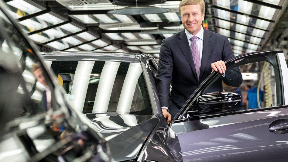 BMW-Chef Oliver Zipse: Produktions- und Personalressort des Autobauers sollen neu besetzt werden