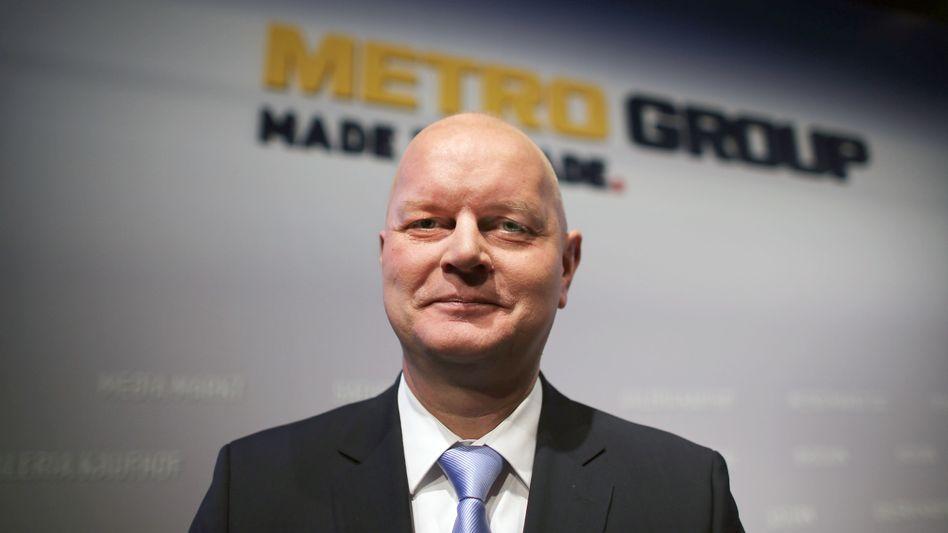 Olaf Koch: Der Metro-Chef feiert den Unabhängigkeitstag - und ist mit Ceconomy auch den Großaktionär Erich Kellerhals los