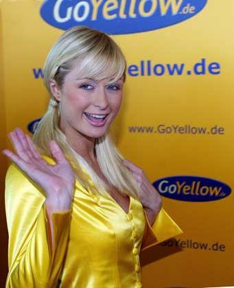 Hotelerbin Paris Hilton: Ehemaliger Werbestar von GoYellow