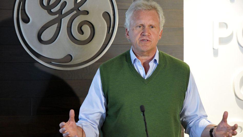 GE-Chef Jeff Immelt: Umsatz von GE im zweiten Quartal um drei Prozent gestiegen