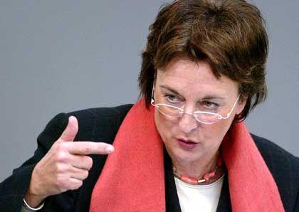 Gesetze wie in USA, Kanada, Großbritannien, Frankreich und Italien: Bundesjustizministerien Brigitte Zypries
