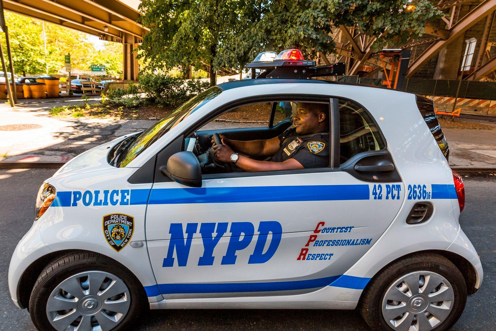 smart fortwo / C 453 / smart / Polizei / USA