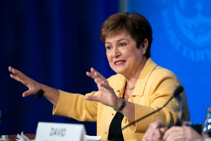 In der Kritik: IWF-Chefin Kristalina Georgiewa