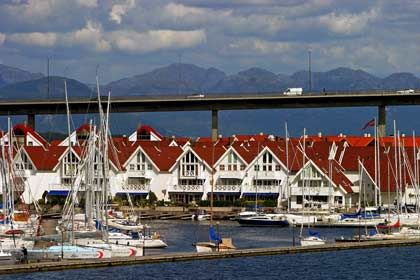 Gepflegte Stadt: Die Öljahre haben die Stadtkasse gefüllt und zum blitzblanken Erscheinungsbild Stavangers beigetragen.
