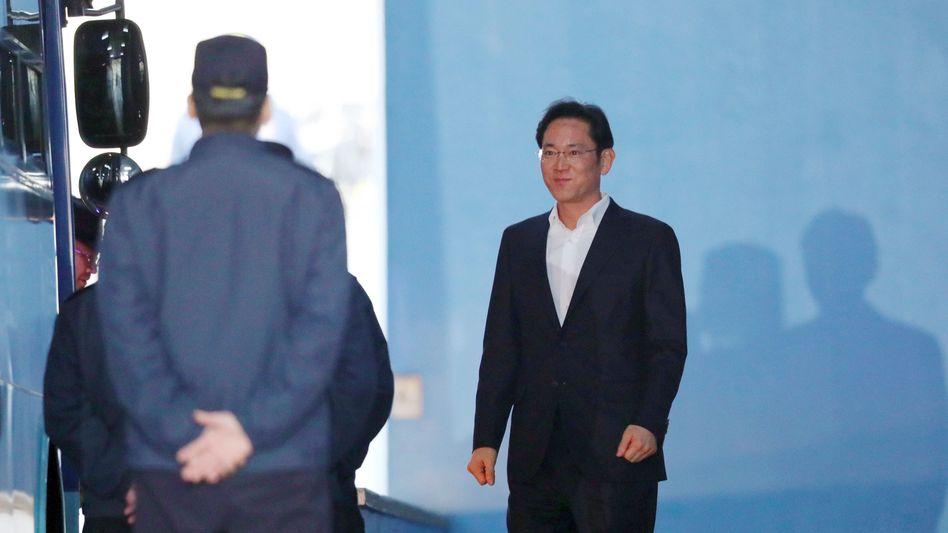 Vorzeitig entlassen: Jay Y. Lee, Chef der Samsung-Gruppe
