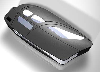 Hightech-Teil mit Chromschmuck - moderne Autoschlüssel können immer mehr und sollen auch noch schick aussehen