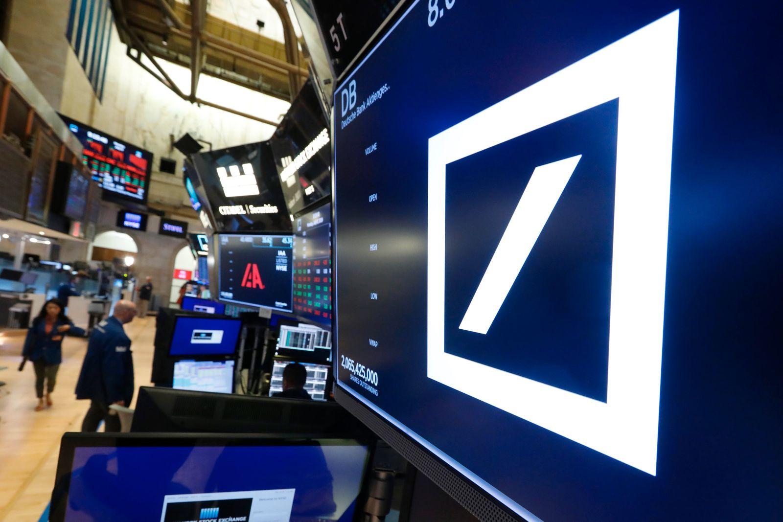 Börse New York / Deutsche Bank