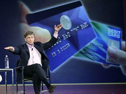 """Microsoft-Gründer Gates: """"Die Computerläden haben einen netten Umsatzanstieg verzeichnet"""""""