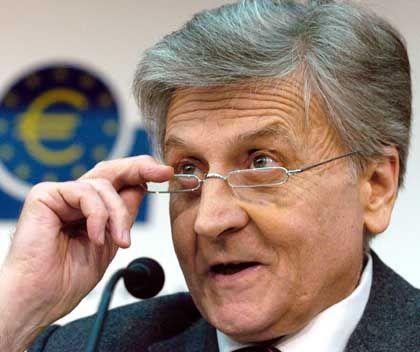 Ruhig bleiben: Jean-Claude Trichet