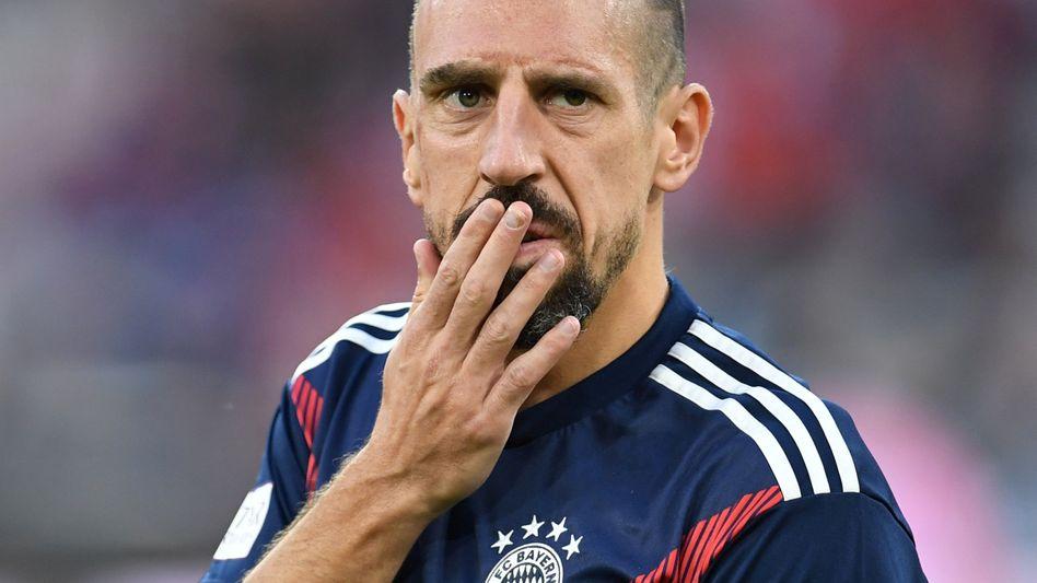 Bayern-Goldjunge Franck Ribéry: Straßenköter bellen laut