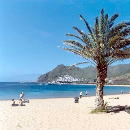 Strand von Teneriffa: Nach den Verlusten der Vorwoche sind Index und viele Anleger erholungsreif