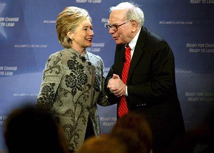 Helfer von Hillary Clinton: Buffett plädiert für eine Stärkung des Dollars