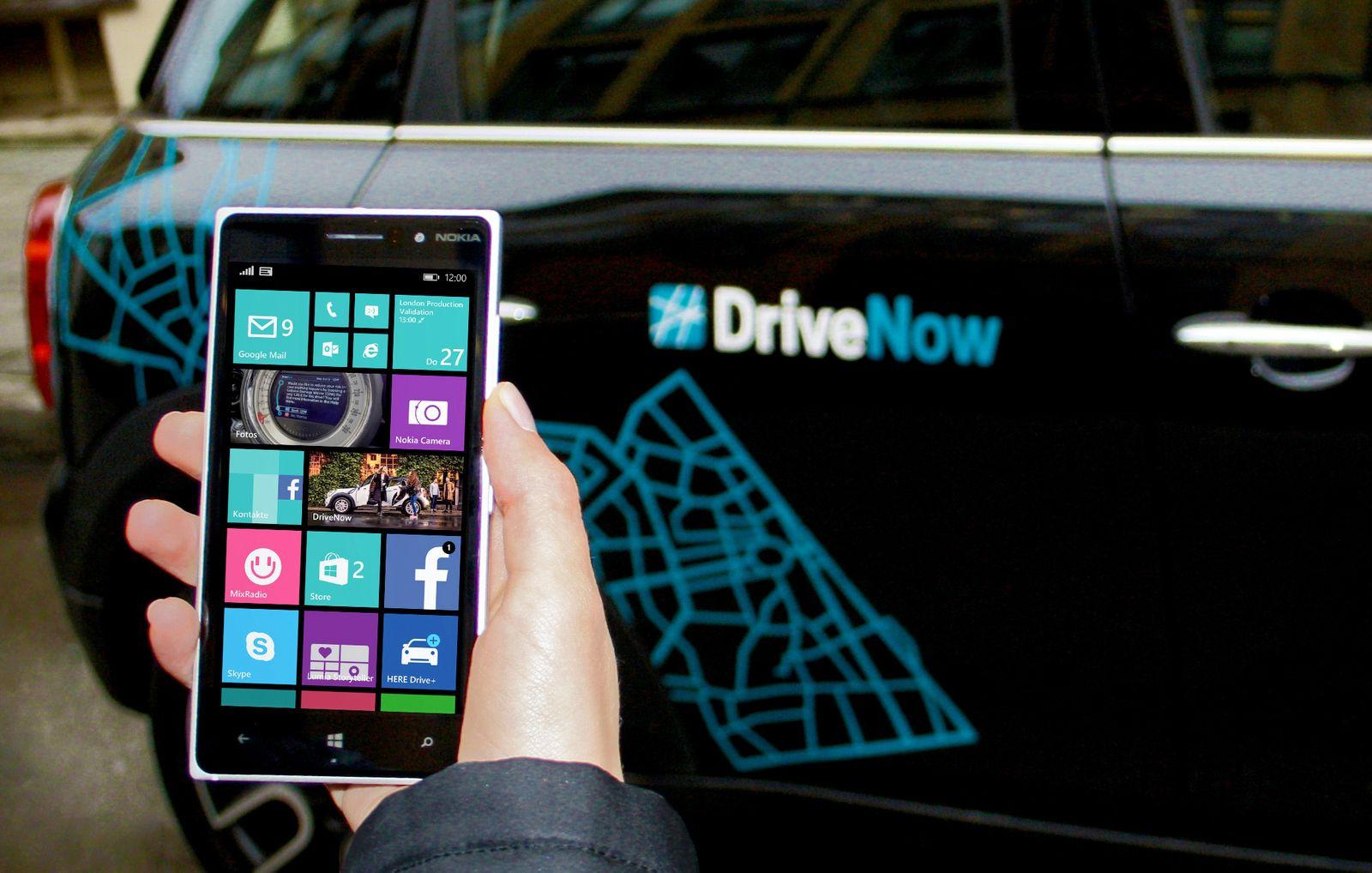 DriveNow / BMW / Mini / Sixt / Carsharing