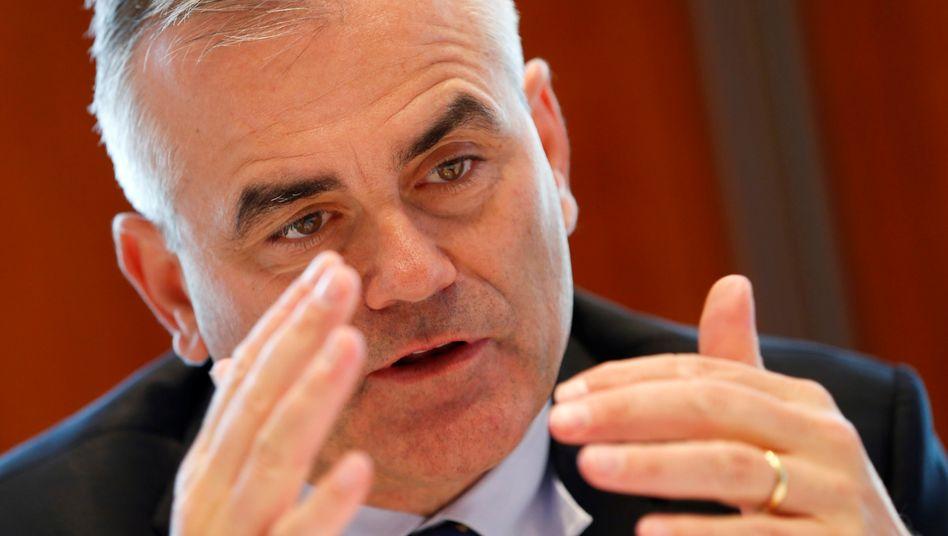 Erwartungen übertroffen, Umbau angekündigt: Thomas Gottstein, neuer Chef der Schweizer Großbank Credit Suisse