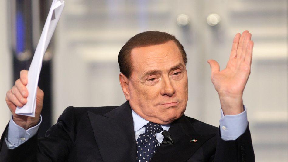Wieder da, zumindest ein bisschen: Populist Berlusconi