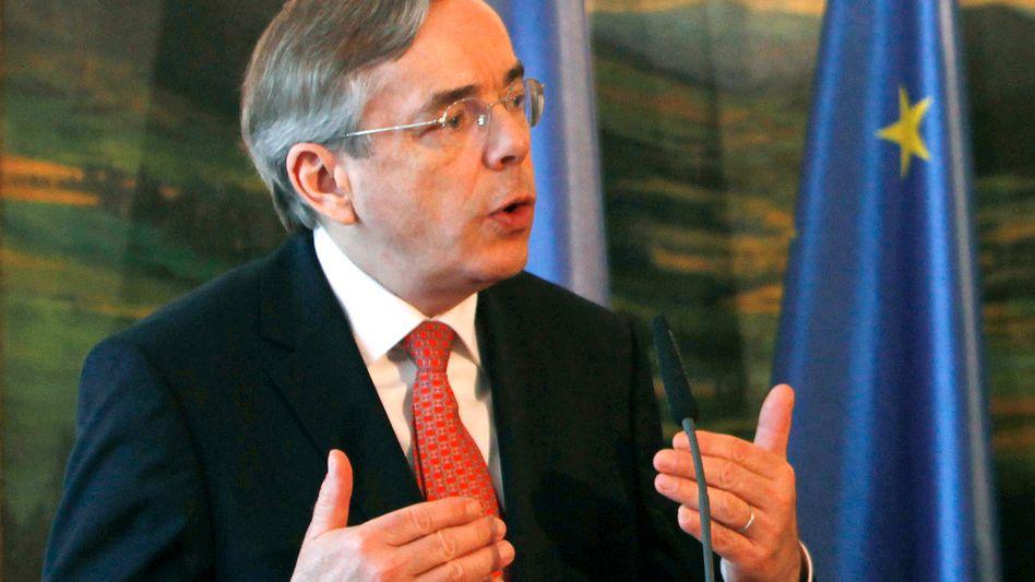 """""""Für viele Nicht-EU-Staaten wäre es ein Affront"""": Thomas Mirow, Präsident der Osteuropabank, sieht sich als legitimen Vertreter für eine zweite Amtszeit"""