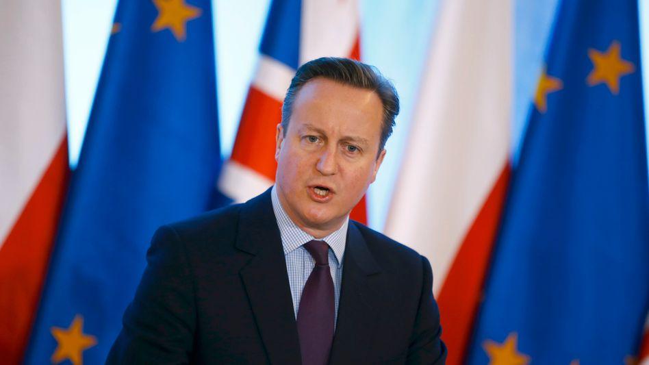 Britischer Premier Cameron: Hofft auf Zugeständnisse