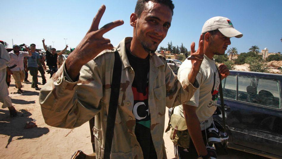 Rebellen vor Tripolis: Das Gaddafi-Regime steht vor dem Ende