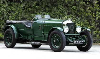 """Bentley Speed Six: Der Brite war Sieger des """"Double Twelve""""-Rennens und Zweiter im Rennen von Le Mans im Jahr 1930"""