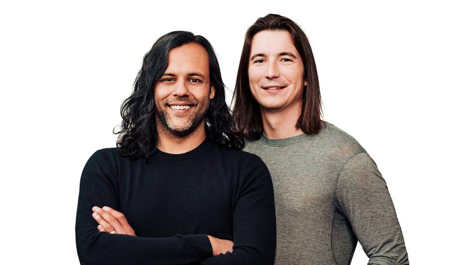 """""""Bei Robinhood bekommen die Reichen keinen besseren Deal"""": Gründer Vlad Tenev (CEO) und Baiju Bhatt (Chief Creative Officer) sehen sich als Kämpfer für den freien Zugang zum Finanzmarkt"""