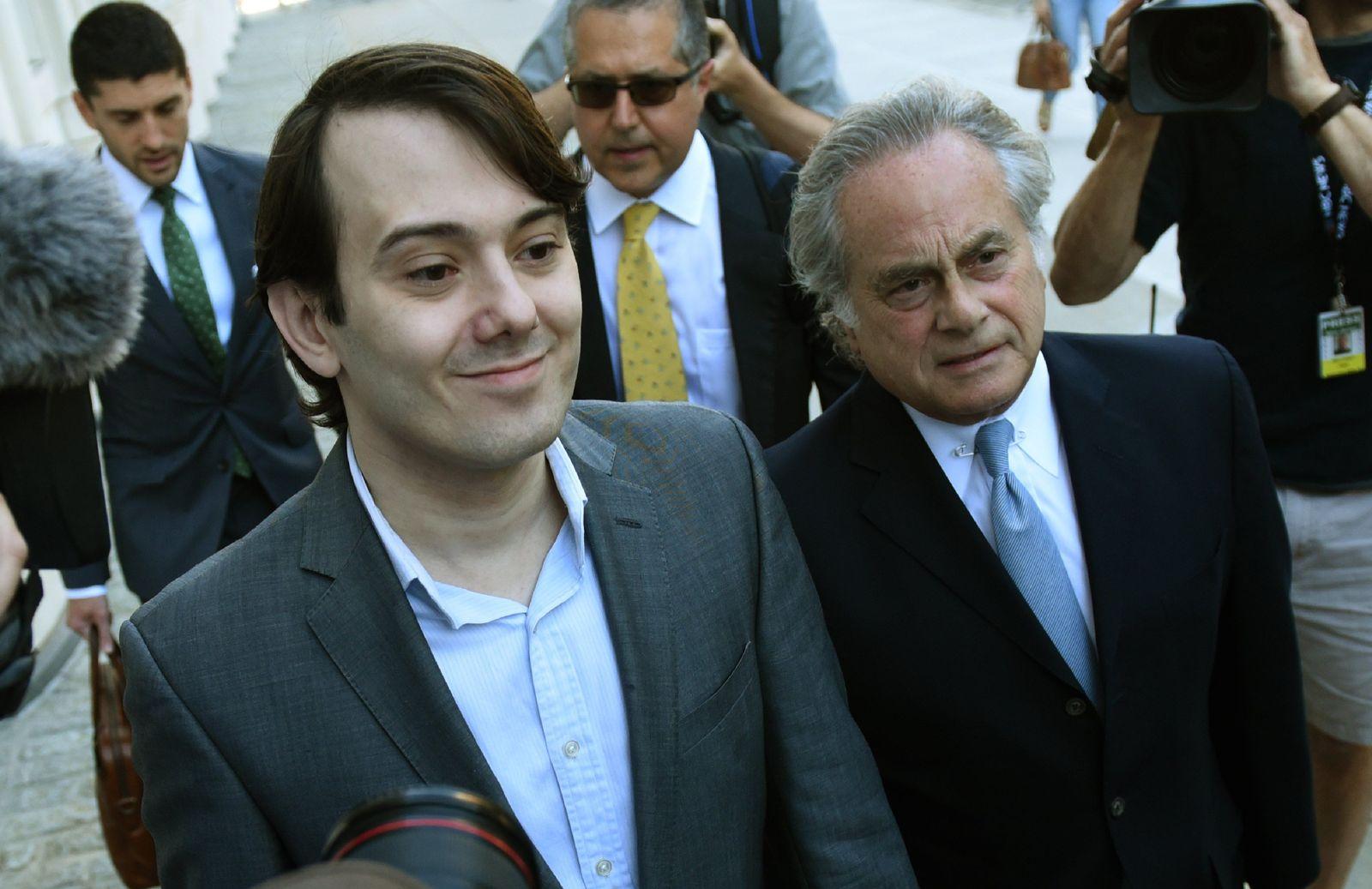 Martin Shkreli / Anwalt Ben Branfman
