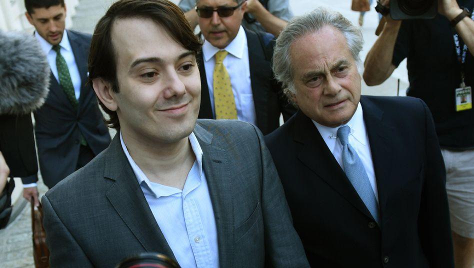 Martin Shkreli, Anwalt Ben Brafman