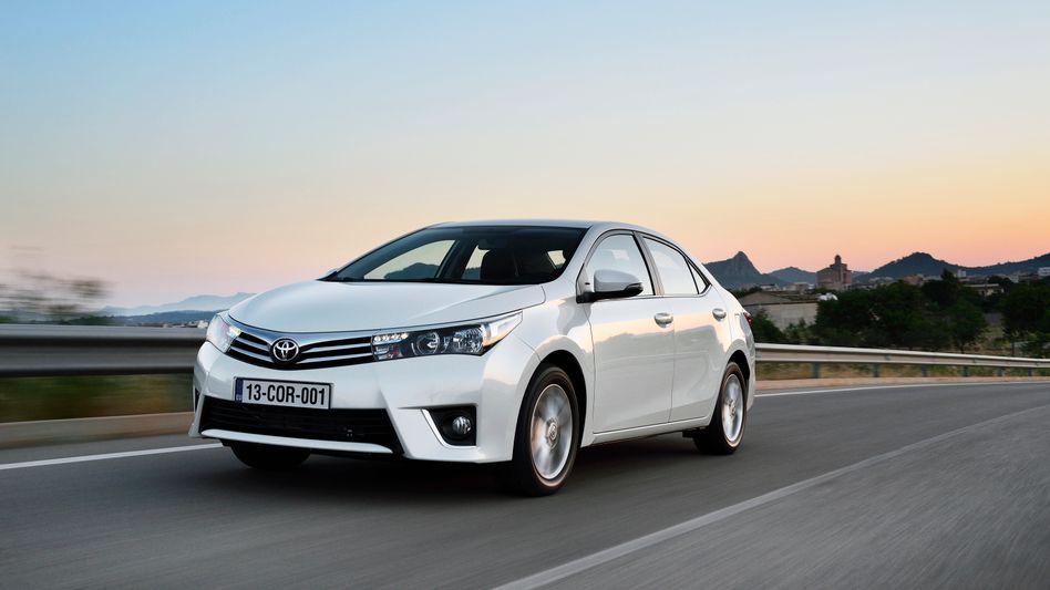Toyota Corolla: Auch die Modelle Corolla Verso und Avensis sind von dem Rückruf betroffen