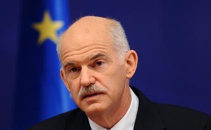 Ende der Fahnenstange: Premier Papandreou