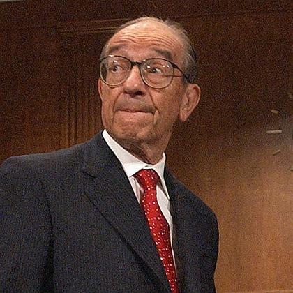 """""""Ich habe falsch gelegen mit der Annahme, dass Organisationen aufgrund von Eigeninteresse ihre Aktionäre und ihr Firmenkapital am besten schützen können"""": Alan Greenspan"""