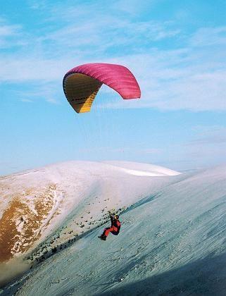 Paragliding in der Hohen Tatra: Sanft in die Gewinnzone schweben