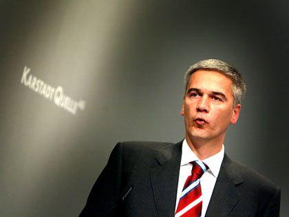Abschied von KarstadtQuelle: Finanzchef Pinger verlässt den Handelskonzern im Streit