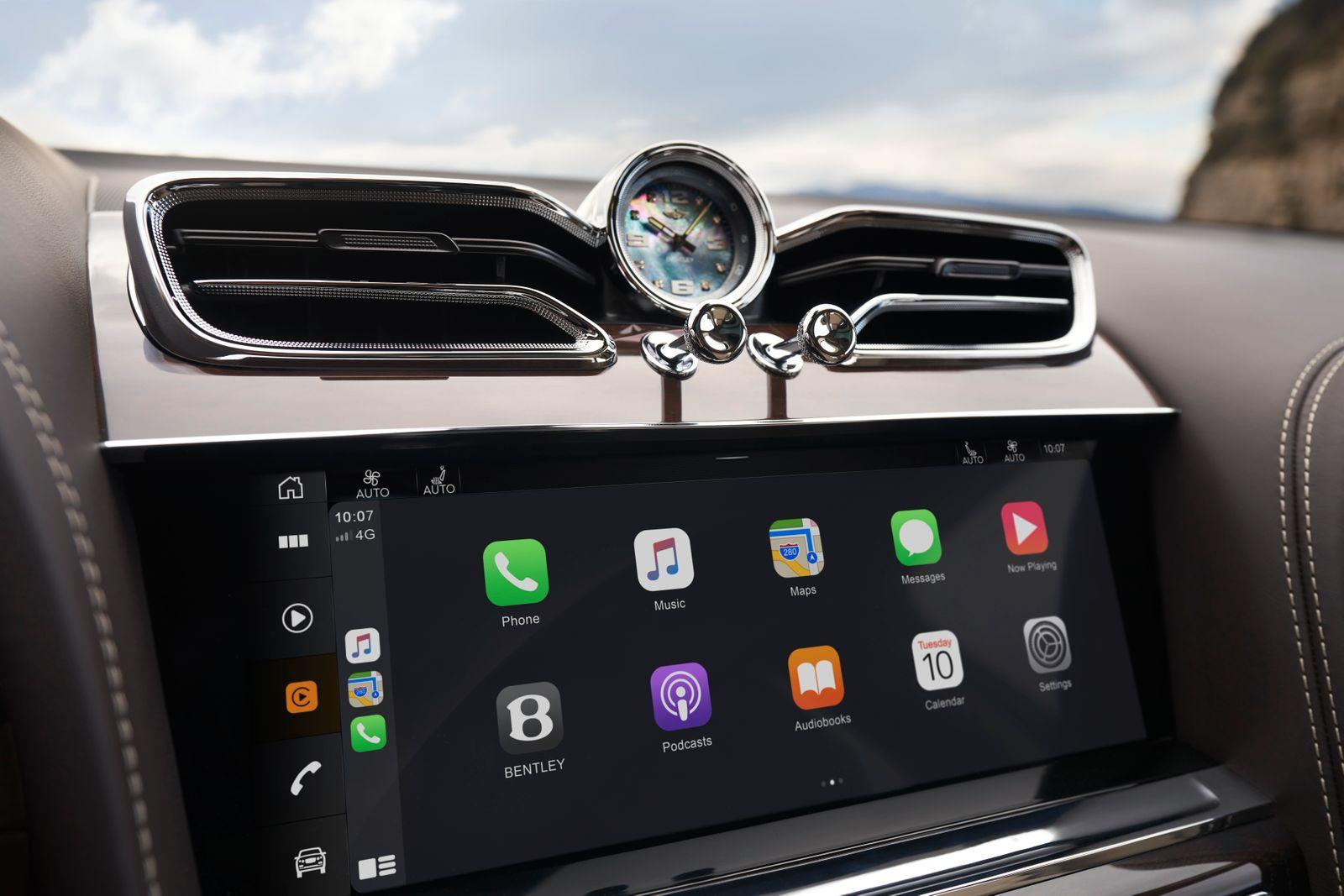 Bentley Bentayga / Touchscreen
