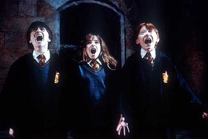 Profitables Trio: Harry Potter und Freunde