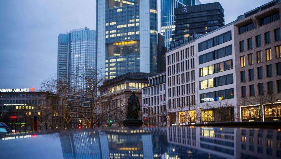 Commerzbank-Zentrale in Frankfurt: Besuch von der Staatsanwaltschaft