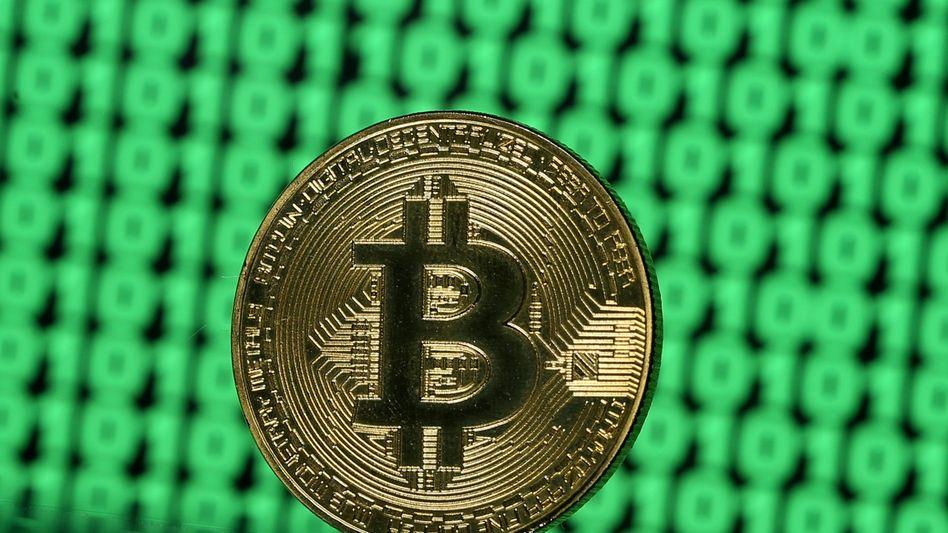 Spekulation pur: Bitcoin hat ein Rekordhoch von 40.000 US-Dollar erreicht - und gab am Donnerstag Abend wieder nach