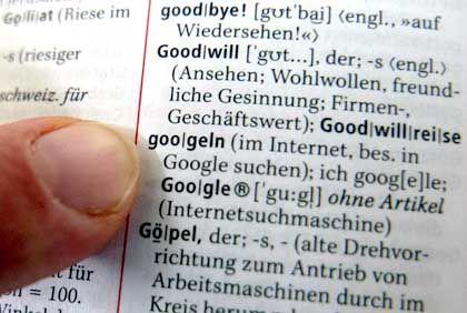 """Einfluss: """"Googeln"""" gehört zur Alltagssprache, dokumentiert im Duden"""