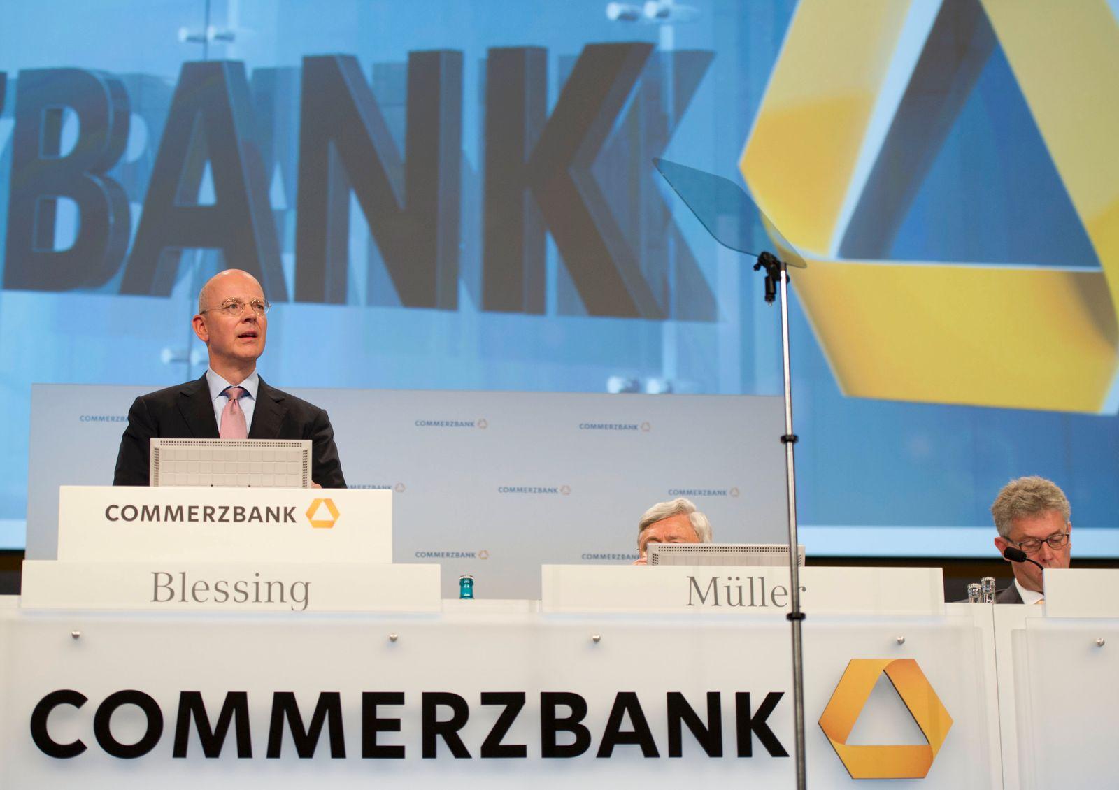 NICHT VERWENDEN Martin Blessing / Commerzbank Hauptversammlung