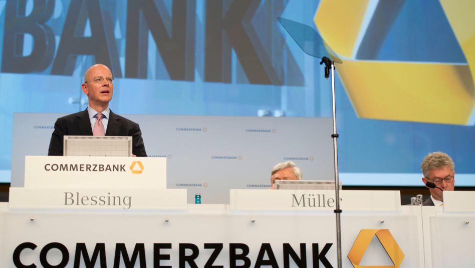"""Commerzbank-Chef Martin Blessing: """"Rahmenbedingungen herausfordernd"""""""
