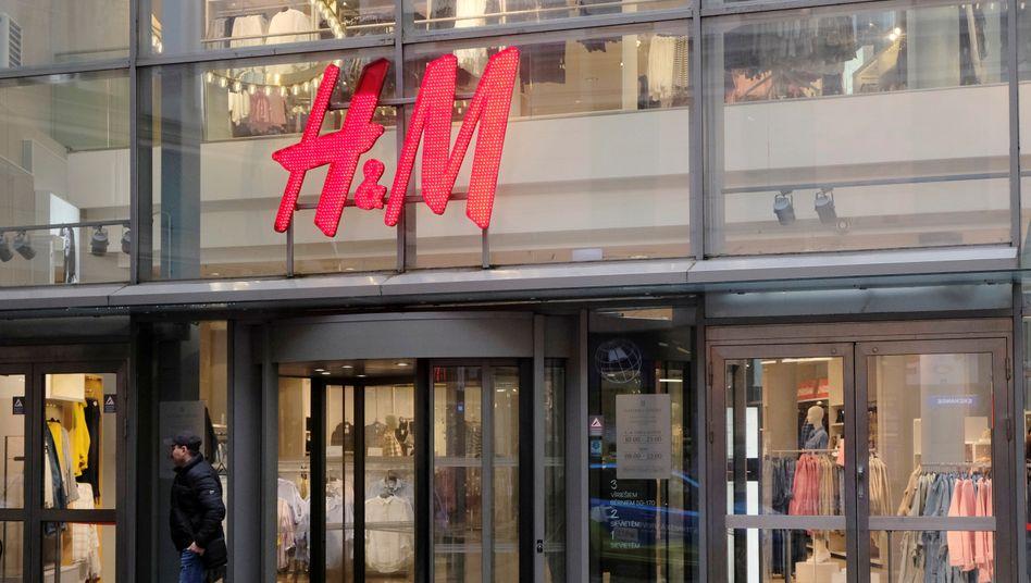 H&M-Geschäft in Riga
