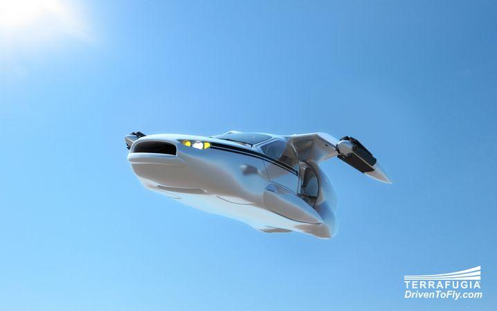 Modell des Herstellers Terrafugia: Technisch ist der Sprung zu fliegenden Autos nicht weit, aber die Gesellschaft ist nicht so weit