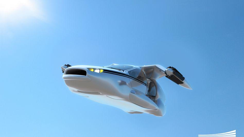 """Zukunftsvision: Modell """"TF-X"""" von Terrafugia"""